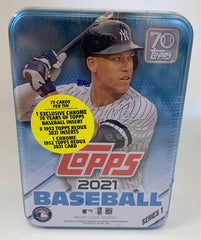 2021 Topps Series 1 Baseball Tin