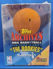 1981-1991  Topps Archives NBA Basketball Hobby Box