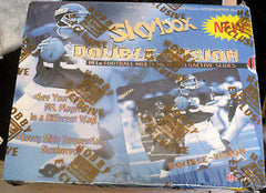 1998 Skybox double Vision Football 2 BOX Case