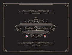 2012 Panini Football National Treasures 4 box case