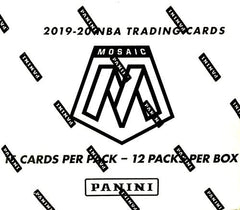 2019-20 Panini Mosaic Basketball CELLO Retail Box