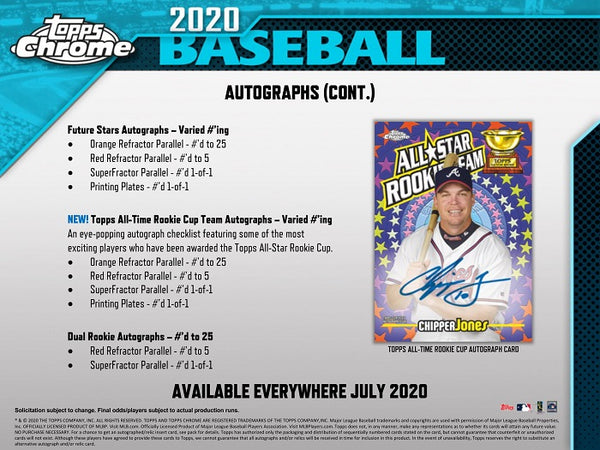 2020 Topps Chrome Baseball 12 Box Hobby Case Break #1 - Pick Your Team