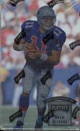 1993 Playoff Contenders Series football - All Star Case Breaks