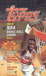1998-1999 Topps Series 1 Basketball Hobby Box - All Star Case Breaks