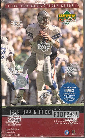 1999 Upper Deck Football Hobby Box - All Star Case Breaks