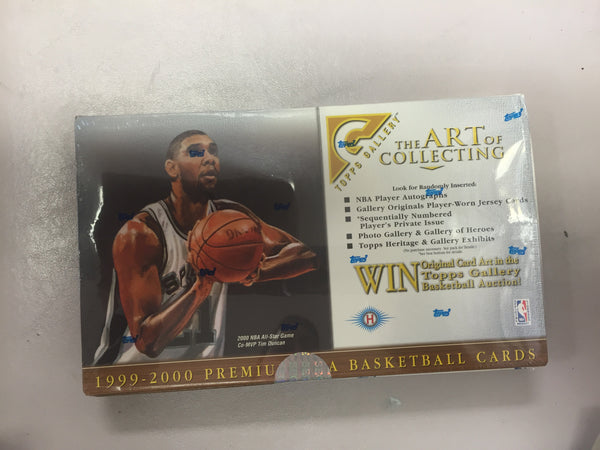 1999-2000 The Art of Collecting basketball - All Star Case Breaks