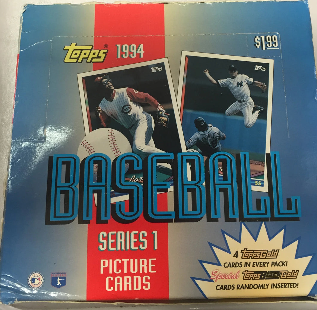 1994 Topps Baseball Series 1 Picture cards Jumbo - All Star Case Breaks