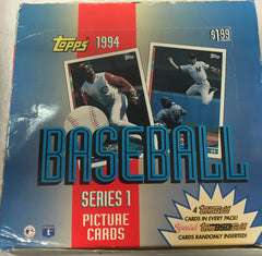 1994 Topps Baseball Series 1 Jumbo Hobby Box