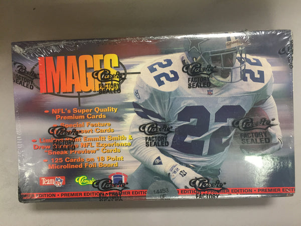 1995 Classics Images Football Hobby Box - All Star Case Breaks