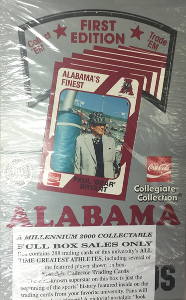 1989 collegiate Collection Alabama Crimson Tide - All Star Case Breaks