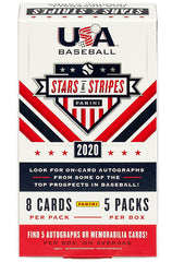 2020 Panini Stars & Stripes USA Baseball Hobby Box