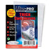"Ultra Pro Thick Soft Sleeves Size 2-1/2"" X 3-1/2"". 1 Pack"