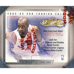 2002-03 Fleer Flair Showcase Basketball Hobby Box