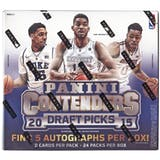 2015-16 Panini Contenders Draft Basketball Hobby Box