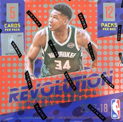 2017-18 Panini Revolution Basketball CNY Box