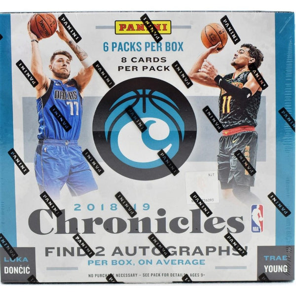 2018-19 Panini Chronicles Basketball Hobby Box