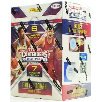 2018-19 Panini Contenders Draft Blaster Basketball 20 Box Case