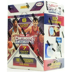 2018-19 Panini Contenders Draft Basketball Blaster Box