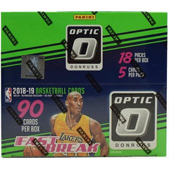 2018-19 Panini Optic Fast Break Basketball Box