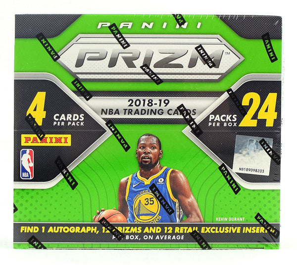2018-19 Panini Prizm Basketball Retail Box