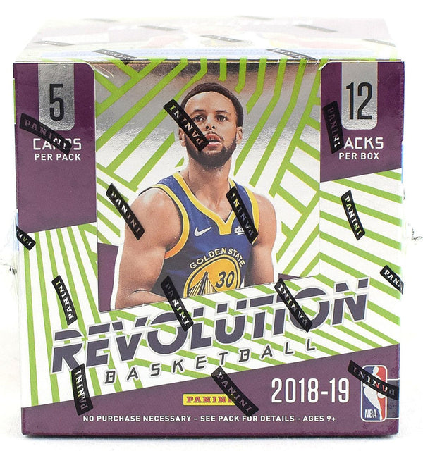 2018-19 Panini Revolution Chinese New Year Basketball 8 Box Case