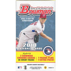 2010 Bowman Baseball 16 Blaster Box Case