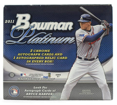 2011 Bowman Platinum Baseball 12 Box Case