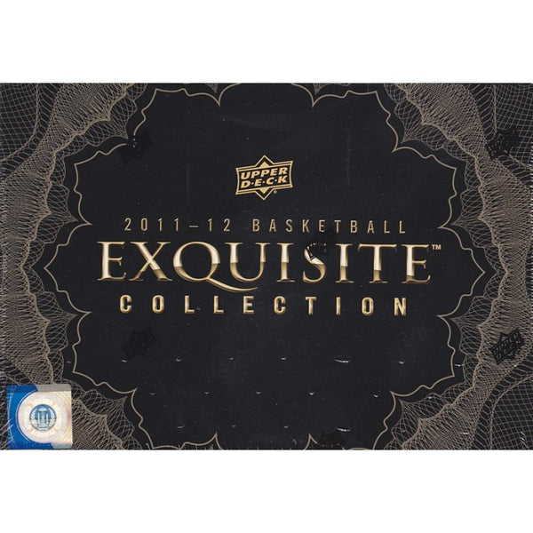 2011-12 Upper Deck Exquisite Basketball 3 Box Case
