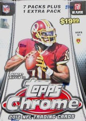 2012 Topps Chrome Football 16 Box Blaster Case