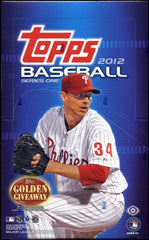 2012 Topps Series 1 Hobby Baseball 12 Box Case
