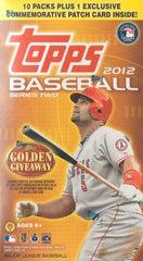 2012 Topps Series 2 Baseball Blaster 16 Box Case