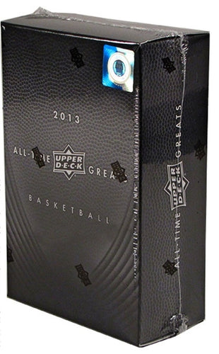 2012-13 Upper Deck All Time Greats Basketball 3 Box Case