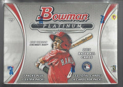 2013 Bowman Platinum Baseball 16 Blaster Box Case
