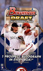 2015 Bowman Draft Baseball Hobby Box