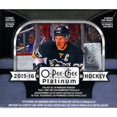 2015-16 Upper Deck OPC Platinum Hockey 16 Box Case
