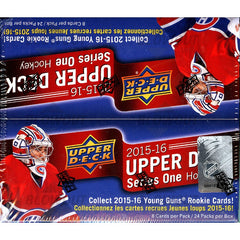 2015-16 Upper Deck Series 1 Retail Hockey 20 Box Case