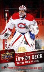 2015-16 Upper Deck Series 1 Hobby Hockey 12 Box Case