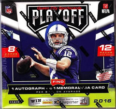2016 Panini Playoff Football 20 Box Case