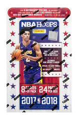 2017-18 Panini NBA Hoops Basketball 20 Box Sealed Case