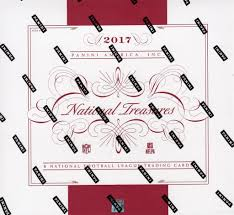 2017 Panini National Treasures Football 4 Box Case - Email for Price