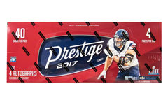 2017 Panini Prestige Football 12 Box Case - Email for Price