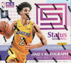 2017-18 Panini Status Basketball 20 Box Sealed Case