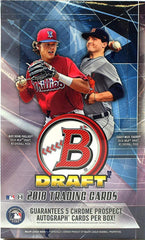 2018 Bowman Draft Super Jumbo Baseball 6 Box Case