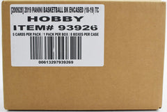 2018-19 Panini Encased Basketball 8 Box Sealed Case