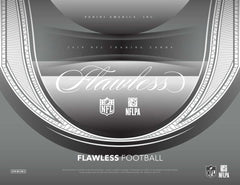 2018 Panini Flawless Football 2 Box Case