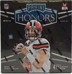 2018 Panini Honors Football 10 Box Case