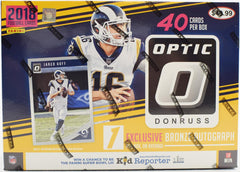 2018 Panini Optic Football Collectors/Mega Box 20 Box Case