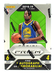 2018-19 Panini Prizm Blaster Basketball 20 Box Case
