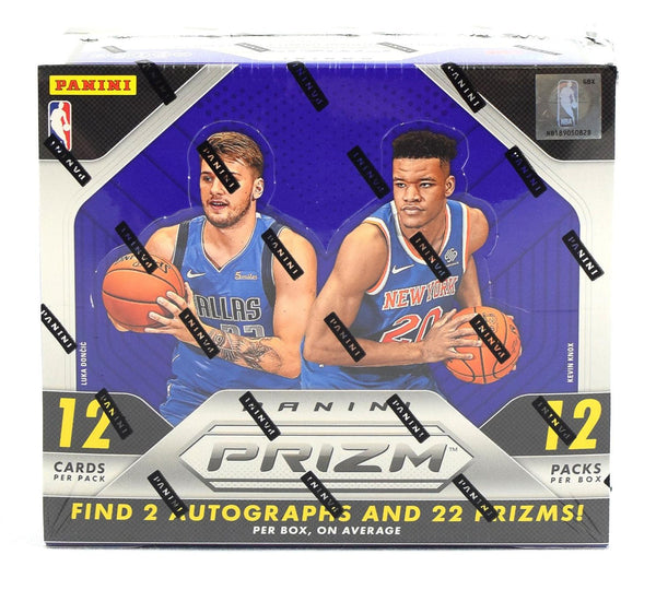 2018-19 Panini Prizm Hobby Basketball 12 Box Sealed Case