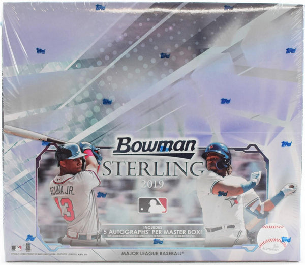2019 Bowman Sterling Baseball 12 Box Case